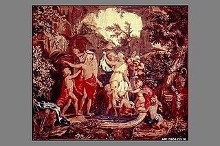 Mythological Subjects after Giulio Romano