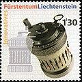 Curta calculator 2006 stamp of Liechtenstein.jpg