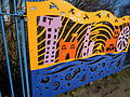 Cutting Edge - railings designed by Anuradha Patel - Northbrook Street, Ladywood (25236312186).jpg