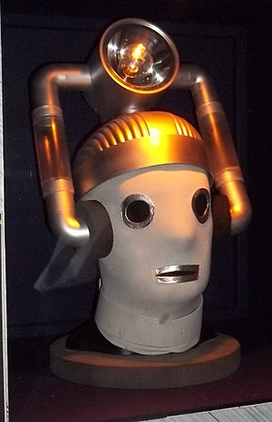 World Enough and Time (Doctor Who) - This episode featured the return of the original Mondasian Cybermen, not seen since 1966 in The Tenth Planet. They are shown here at a Doctor Who exhibition.