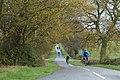 Cycling east along Collingham Lane near Broadwell - geograph.org.uk - 1581338.jpg