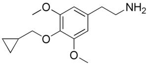 Cyclopropylmescaline - Image: Cyclopropylmescaline