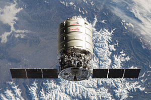 Cygnus 2 approaches ISS (ISS038-E-028044, modified).jpg