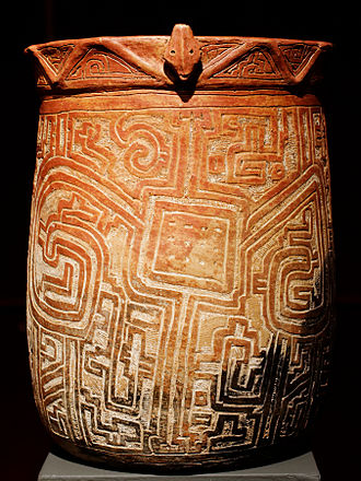 Marajoara culture - Vase, Collection H. Law