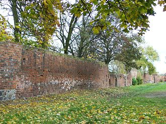 Choszczno - Mediaeval town wall