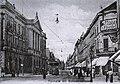 Düsseldorf, Schadowstraße, Tonhalle (links) Poststempel 28.10.1909 (Quelle - Paul Wietzorek, Das historische Düsseldorf, Düsseldorf 2010).jpg
