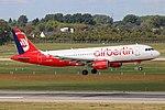 D-ABZI Airbus A320-200 Eurowings ex airberlin DUS 2018-09-01 (2a) (30801559418).jpg
