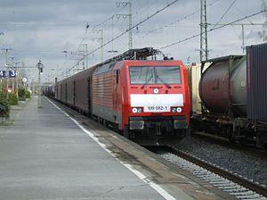 Emmerich station - Image: DB 189 082 at Emmerich