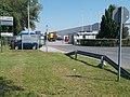 DB Cargo Hungária Terminal, gate, 2018 Győr.jpg