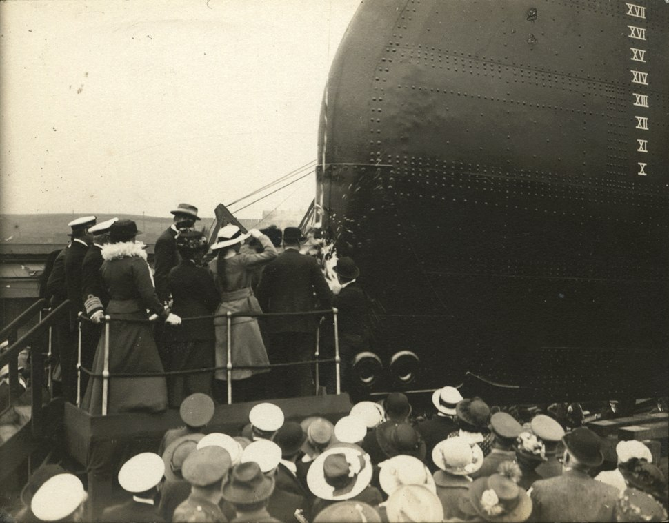 DF.CLR-8-29 The Launch of the Minas Geraes