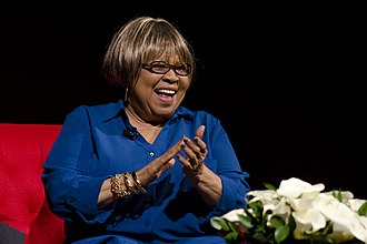 Mavis Staples - Staples at the LBJ Library in Austin, Texas