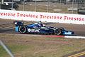 Dallara-Chevrolet DW12 KV-BMC Racing Ruebens Barrichello Morning Practice Through Turn1 SPGP 24March2012 (14699706655).jpg