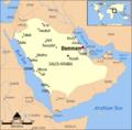 Dammam, Saudi Arabia locator map.png