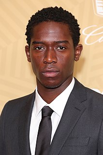 Damson Idris English television, movie and stage actor