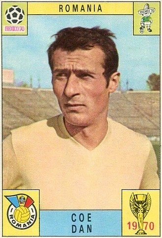 FC Rapid București - Dan Coe, captain of the squad that won the first title, also a symbol of the club, being presently in fans' songs even today.