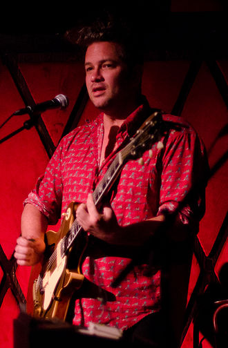 Dan Kelly (musician) - Dan Kelly performing in New York City in September 2011