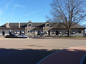 Danville station - Image: Danville Amtrak Station