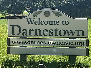 Darnestown, Maryland Census-designated place named Darnestown in Maryland, United States