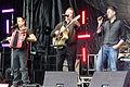 Darren Holden, Finbarr Clancy, Brian Dunphy - Donegal, 2011.jpg