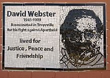 Mosaic, David Webster Park