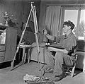 De in kibboets Kiwath Brenner tot bronsgieter omgeschoolde kunstschilder Jacob L, Bestanddeelnr 255-0588.jpg