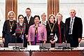 De nordiska landernas och de sjalvstyrande omradenas kulturministrar samt Nordiska Ministerradets generalsekreterare vid Nordiska Radets session i Stockholm.jpg
