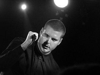Deafheaven - George Clarke performing in Barcelona in 2012