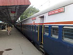Deccan Queen Express at Pune