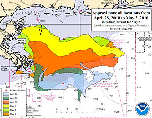 Deepwater Horizon oil spill NOAA map.jpg