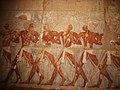 Deir-El-Bahri, Temple of Hatshepsut Soldiers (9794762716).jpg