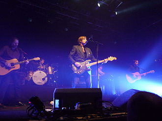 Del Amitri - The 2014 tour line-up of Del Amitri performing at Vicar Street in Dublin.