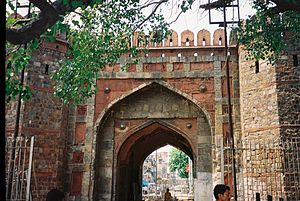 Delhi Gate, Delhi - Delhi Gate links Daryaganj of Old Delhi with New Delhi