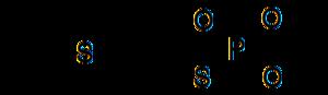 Demeton-S-methyl - Image: Demeton S methyl
