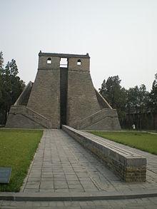 Lo gnomone dell'osservatorio di Gaocheng