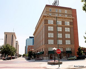 National Register of Historic Places listings in Wichita County, Texas - Image: Depot Square Historic District