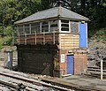 Derelict Signal Box at Botley Railway Station - geograph.org.uk - 221812.jpg