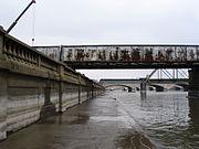 Des Moines River in Des Moines