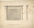 Designs for a Chimney-piece for Richard Barwell's Drawing Room at Esher, Surrey MET DP805404.jpg