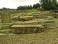 Detail from roman fort of Vindolanda 20.jpg