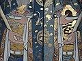 Detail of Painted Doorway - Han Jiang Temple (Tokong Han Jiang) - George Town - Penang - Malaysia (35317807212).jpg