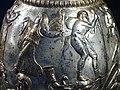 Detail of Silver Jug Showing Wedding of Dionysus and Ariadne - Borovo Treasure - Regional Historical Museum - Ruse - Bulgaria - 02 (42144460105).jpg