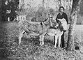 Deutscher Photograph um 1870 - Szene aus einem Münchener Tiergarten (2) (Zeno Fotografie).jpg