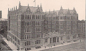 John Jay College of Criminal Justice - Haaren Hall in the early 20th century. Prior to the acquisition by John Jay, it was De Witt Clinton High School