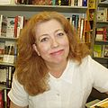 Diane K Roberts.at Goerings BookStore.2005.0516.jpeg