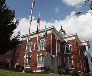 Dickenson County Courthouse in Clintwood