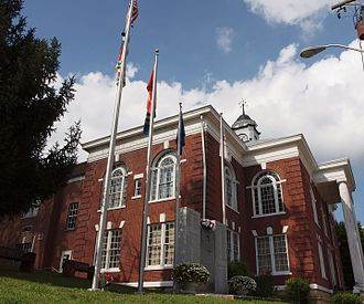 Dickenson County, Virginia - Image: Dickenson County Courthouse
