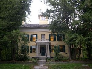 Photo of the Dickinson Homestead taken in Octo...