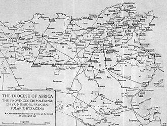 Majorinus - Dicoeses of Africa, 256