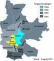 Die Stadtteile der Stadt Cottbus.png