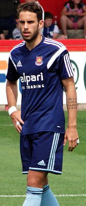 Diego Poyet West Ham July 2014.jpg
